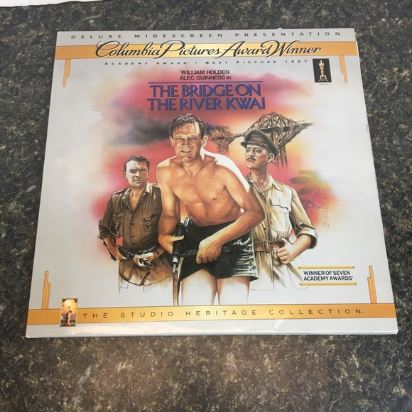 Other - The Bridge On The River Kwai Laserdisc widescreen
